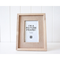 Photo Frame - Coastal Rattan Medium - 18x24cm (MIN 2)