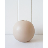 Vase- Sphere Cream - Small - 12cm (MIN 2)