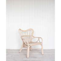 Chair - Neveah - White Wash Rattan