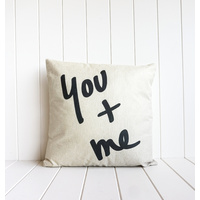 Indoor Cushion - You + Me - 45x45