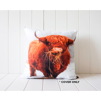 Indoor Cushion COVER - Bovine Angus - 45x45