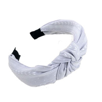 Headband - Natasha Nautical - Fabric Grey - 13.5x18 (MIN 2)