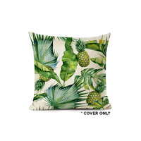Indoor Cushion COVER - Pineapple Plantation - 45x45