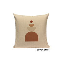 Indoor Cushion COVER - Abstract Neutral - 45x45