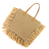 Bag - Theola Tassel - Natural - 50 x70