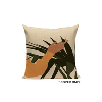Indoor Cushion COVER - Picking Palms - 45x45