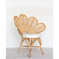 Rattan Lotus Chair  (Natural)