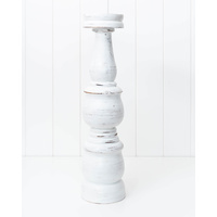 Candle Holder - Annisa White Large - 12 x 50