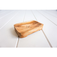 Soap Tray - Teak - Rectangle - 12x8 (MIN 2)