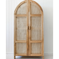 Cabinet - Adger - Rattan Natural - 180x90x50