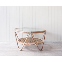 Coffee Table - Adalyn - White Wash - 80x45