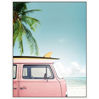 Floating Frame - Combi Days Pink - 80x100