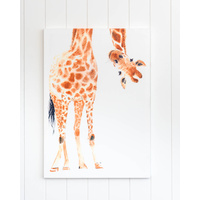 Canvas Print - Rayell Jnr. - Oh Hello There Giraffe - 50x70