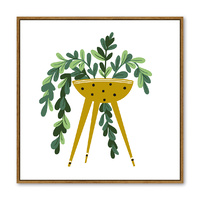 Floating Frame - Potted Planter - 100x100