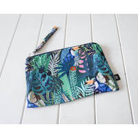 Zippered Pouch - Toucan Party - 27x18 (MIN 2)