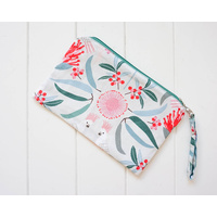 Zippered Pouch - Cockatoo Cream - 29x19 (MIN 2)