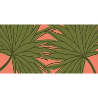 Canvas - Retro Palms - 120x60