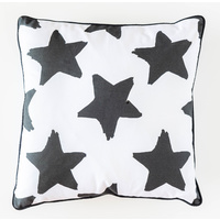 Cotton Cushion - Jnr - Sketched Stars - 45x45