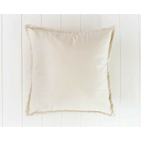 Velvet Cushion - Madison - Off White - 45x45