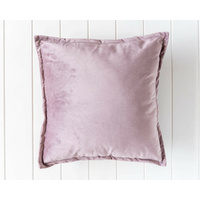 Velvet Cushion - Madison - Mauve - 45x45