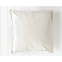 Velvet Cushion - Madison - Off White - 60x60