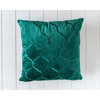 Velvet Cushion - Alexander - Emerald - 45x45
