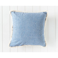 Indoor Cushion - Holiday Home Stripe - Blue - 45x45