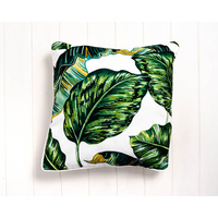 Outdoor Cushion - Tropical Leaves B - 45x45