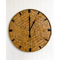 Clock - Keily - Round - Natural - 90cm