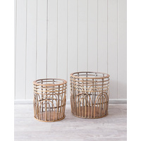 Basket Set - Zoey - Set of 2 - 33/29cm