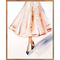 Floating Frame - Dressed to Impress - 80x100