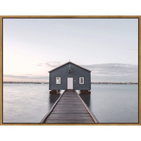 Floating Frame - Dock On The Bay - 115x90