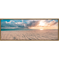 Floating Frame - Beach Contrast - 160x60