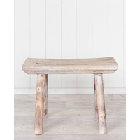 Stool - Timber W/Wash Moki - 45x19x31 (MIN 2)