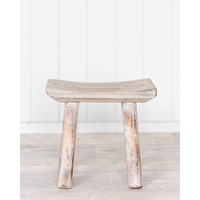 Stool - Timber W/Wash Moki - 30x14x26 (MIN 2)
