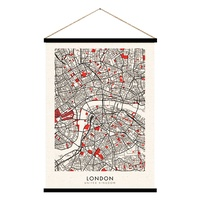 Hanging Scroll - London - 65 x 92