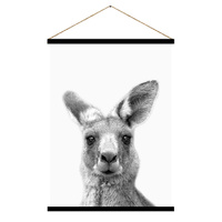 Hanging Scroll - Jnr. - Roopert Kangaroo - 65 x 97