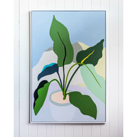 Premium Edition - Plant Love Green Leaves - 82x122