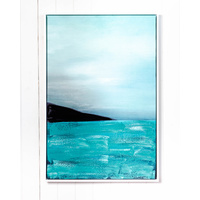 Premium Edition - Abstract Shore Line Painting - 62x92