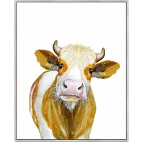 Framed Canvas - Bovine - Caramello - 80x100