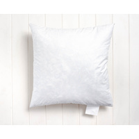 Indoor Cushion INSERT - White Feather Filled - Heavy Cover - 45x45 (MIN 4)