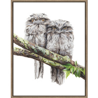 The Artist Lab - Rachel Hollis - Tawny Frogmouths - 70x90