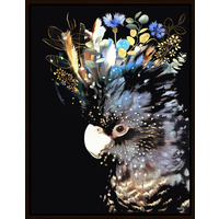 The Artist Lab - Inkheart - Blue/Black Cockatoo - 70x90