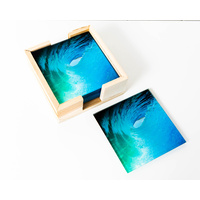 Artist Lab - Chris Dixon - Glasshouse Glass Coaster Set (MIN 2)