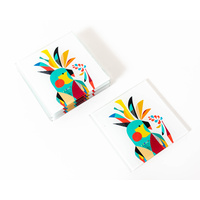 Artist Lab - Rachel Lee - Cockatoo Coaster Set (MIN 2) - Without Box