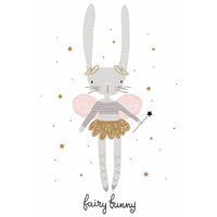 Canvas Print - Delila the Fairy Bunny (MIN 2) 40x60