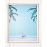 Framed Artwork - California Calling - 80x100