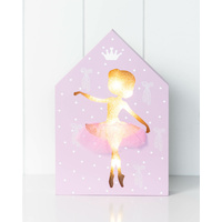 LED Light Box - Jnr. -  Belinda Ballerina - 17x25x3