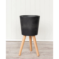 Planter - Helsinki - Pot - Dark Grey -31x31x60