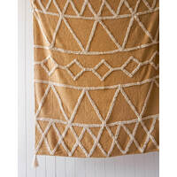 Throw Blanket - Arcadia - Butterscotch - 125x150
